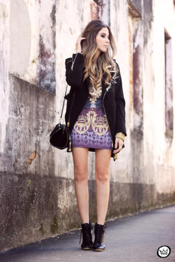 fashion coolture tights dress coat cardigan shoes