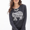 Elephant graphic knit top | forever 21