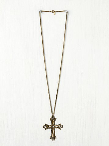 Dudine  Colonial X Pendant at Free People Clothing Boutique
