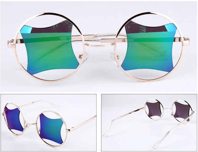 RECTANGLE RETRO SUNGLASSES / back order – HolyPink