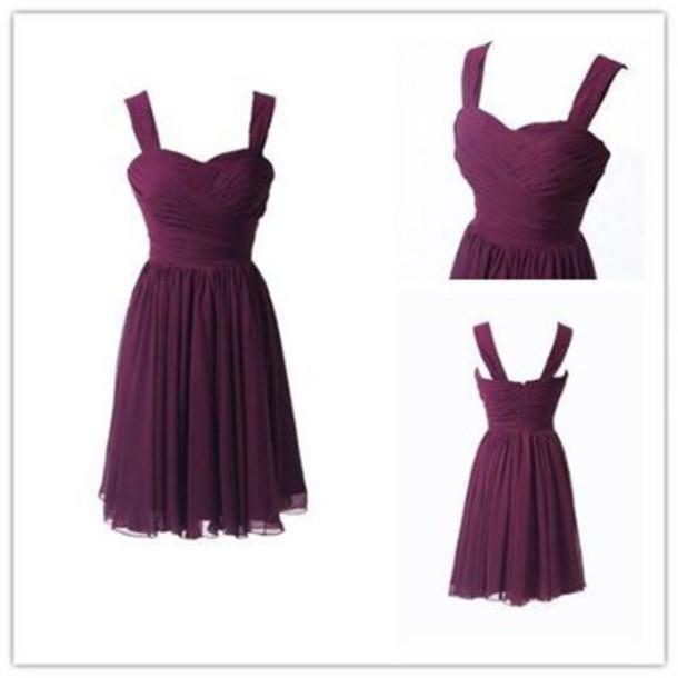 dress short bridesmaid dresses burgundy bridesmaid dress bridsmaid dreses