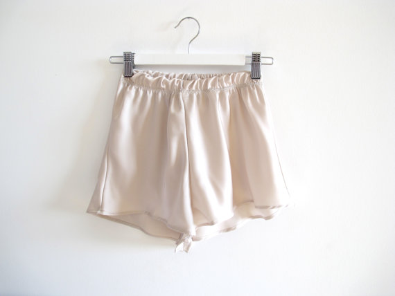 Marilyn High Waisted Shorts by AuroraLingerie on Etsy