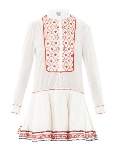 Lizabeth embroidered dress | Thierry Colson | MATCHESFASHION.COM
