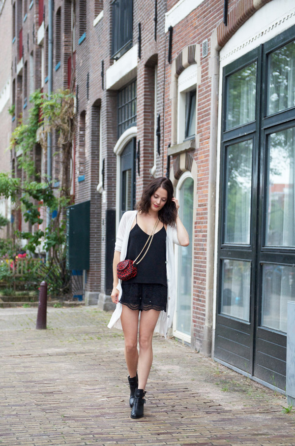 fashion fillers sweater tank top shorts shoes bag