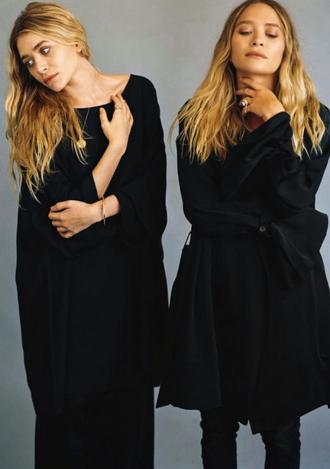coat skirt jeans olsen sisters mary kate olsen ashley olsen sweater fall outfits
