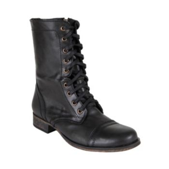 Free Shipping - Steve Madden Troopa Women's Combat Boots