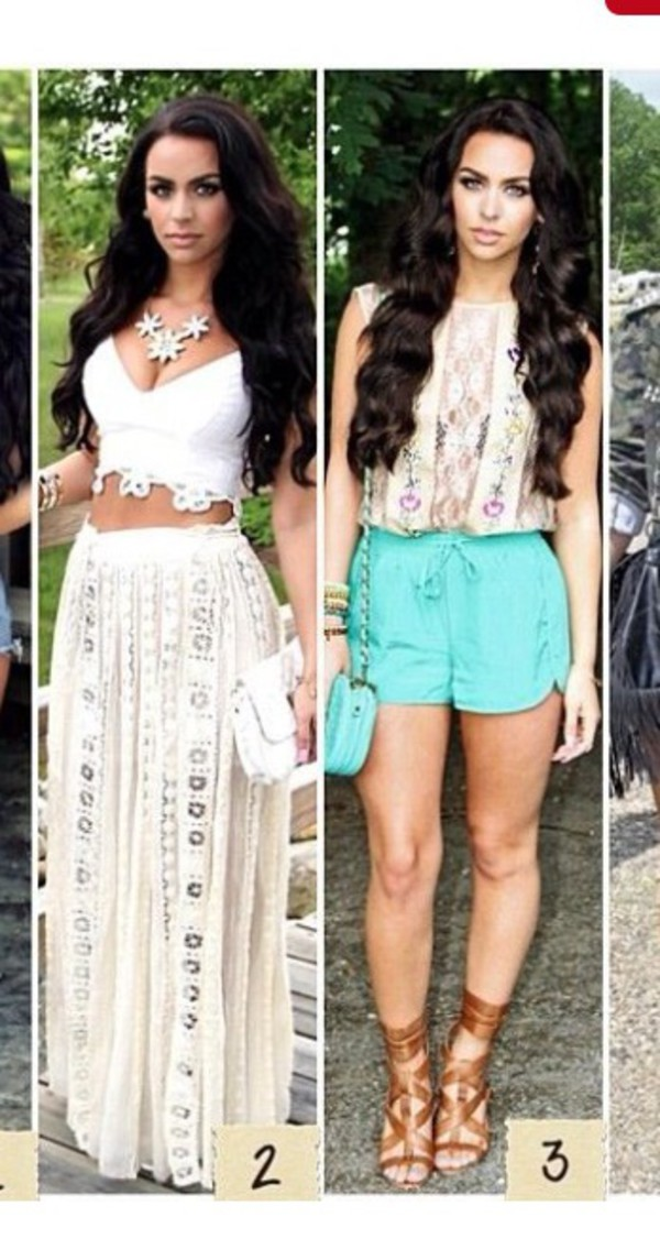 Skirt with High Waisted Style