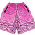 Pink Bandana Shorts – GODLY ($65.00) - Svpply
