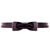 ROMWE | Dark Purple-bowtie Skinny Belt, The Latest Street Fashion