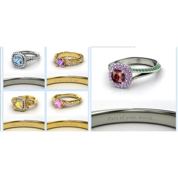 jewels disney disney princess ring disney ring