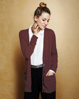 Cashmere Boyfriend Cardigan | Cashmere Clothing | Pure Collection