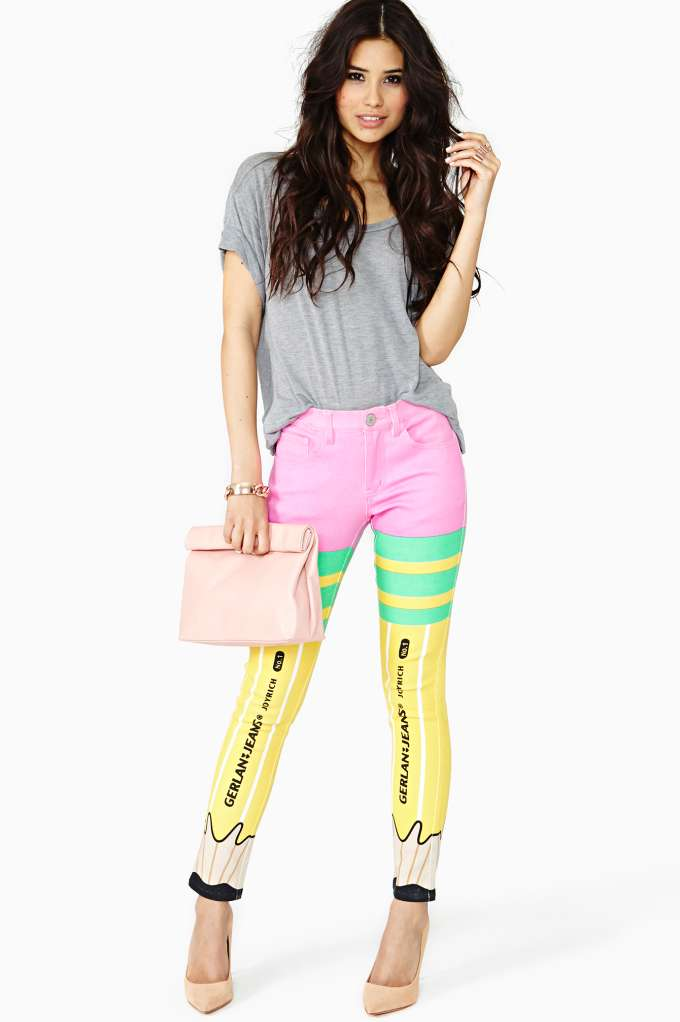 Gerlan Jeans X Joyrich Pencil Skinny Jeans  in  Clothes at Nasty Gal