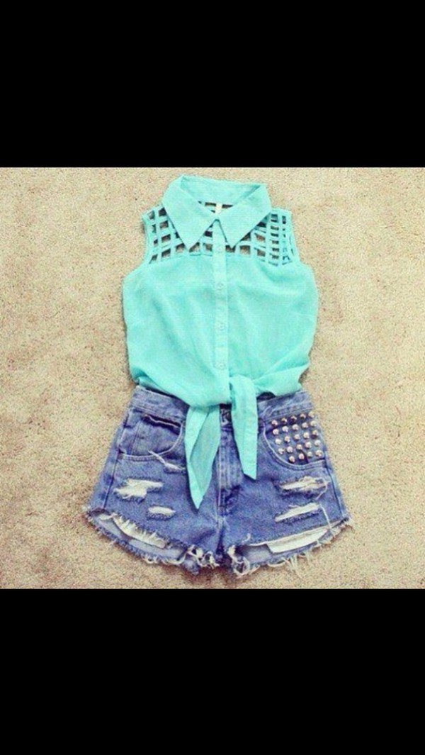 shirt shorts top