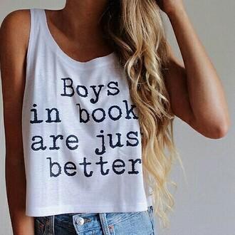 t-shirt book tumblr outfit tumblr top tumblr shirt long top white long top swag top
