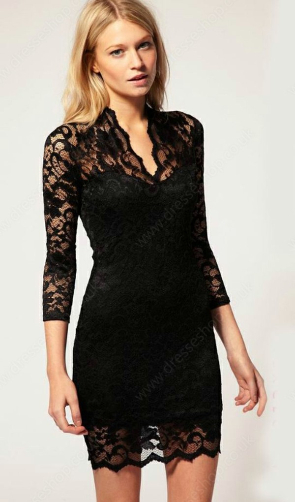 dress black dress clothes girl
