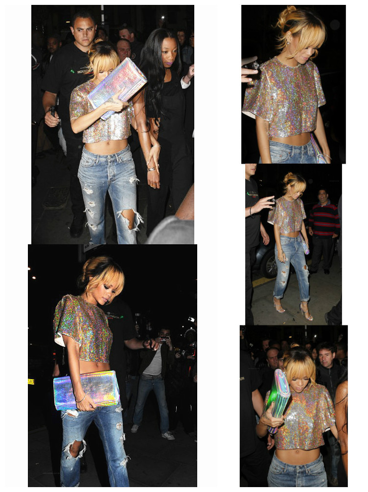 Sexy fashion queen rihanna geometry laser disco racerback bling t clothing-inT-Shirts from Apparel & Accessories on Aliexpress.com