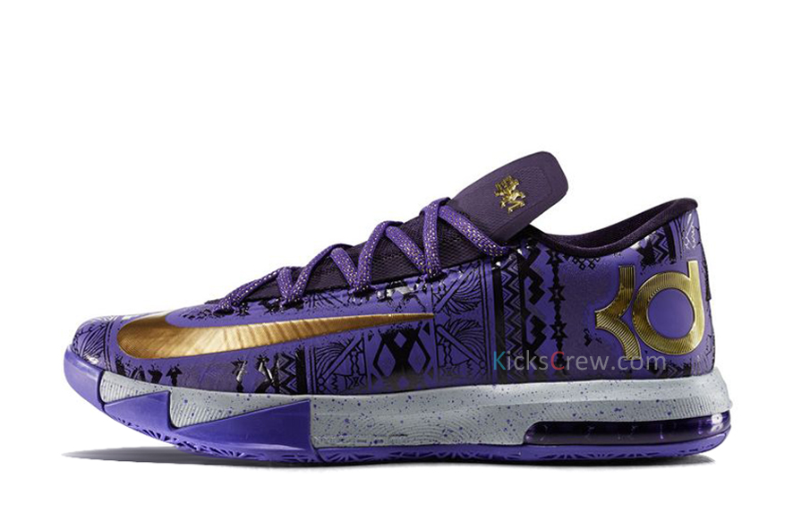 Nike KD VI BHM Black History Month (646742-500) - Order and buy it now from Kicks-Crew online