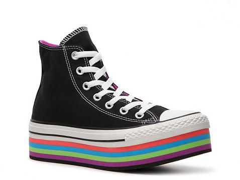 Converse Chuck Taylor All Star Platform High-Top Sneaker - Womens   DSW