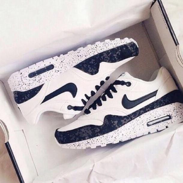shoes nike air white oreo