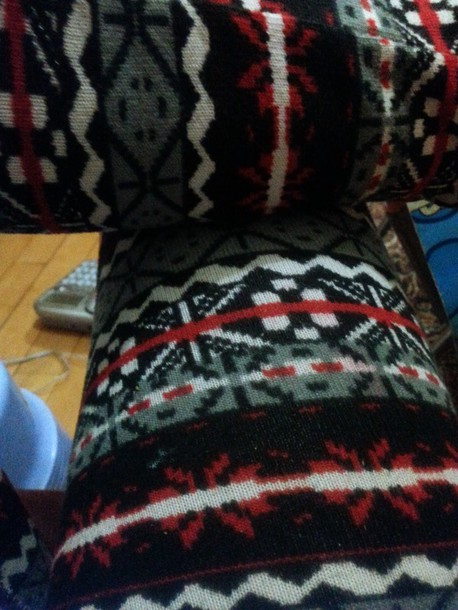 leggings tribal pattern