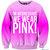 On Wednesday's We Wear Pink Fresh Top Crew Neck | fresh-tops.com on Wanelo