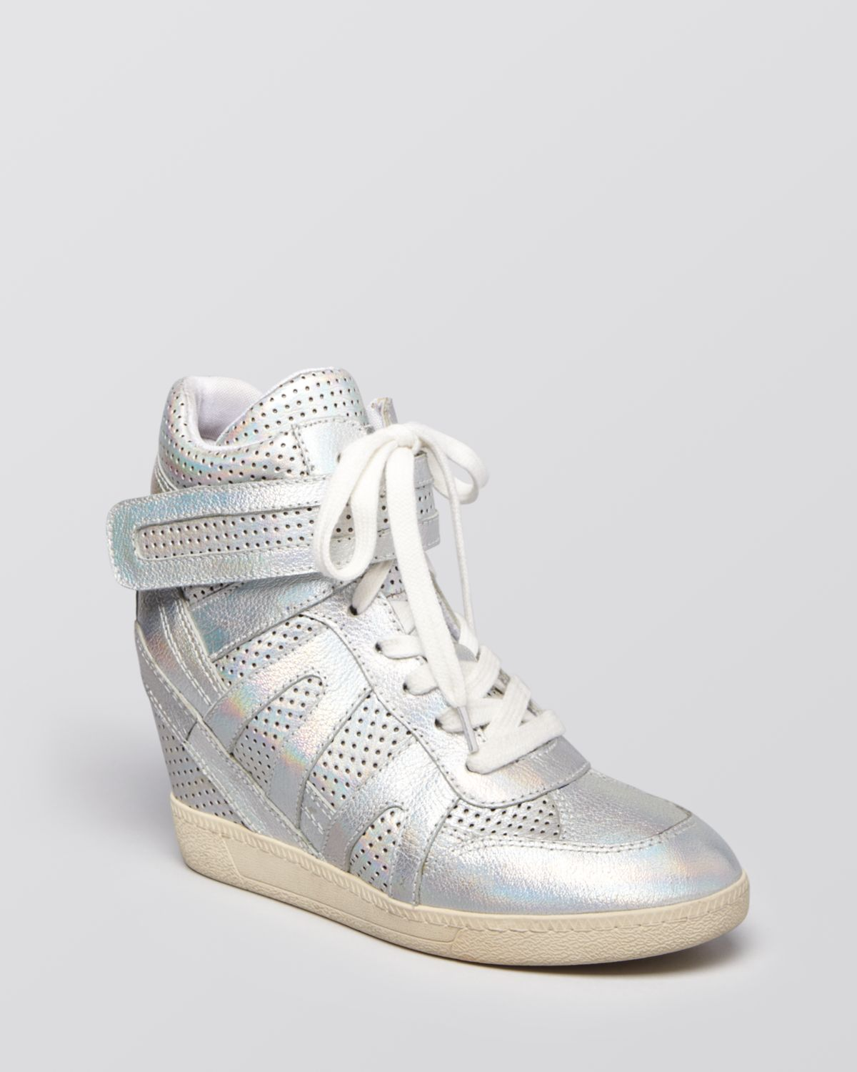 Ash Lace Up Wedge Sneakers - Beck | Bloomingdale's