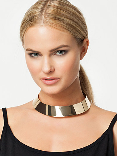 Plain Chocker - Nly Accessories - Gold - Jewellery - Accessories - Women - Nelly.com