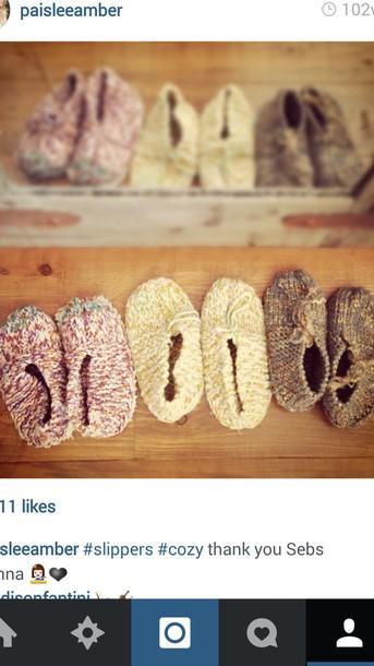 shoes slip on shoes knitwear knited footwear slippers