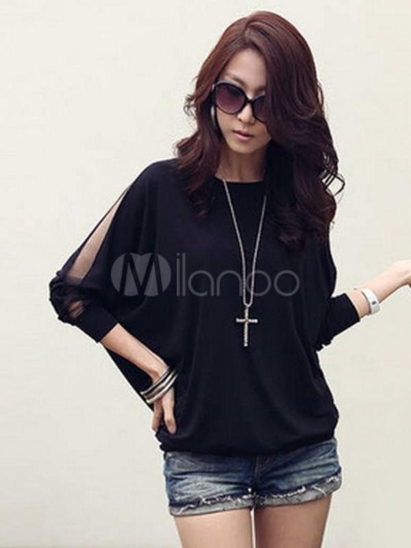 shirt black t-shirt