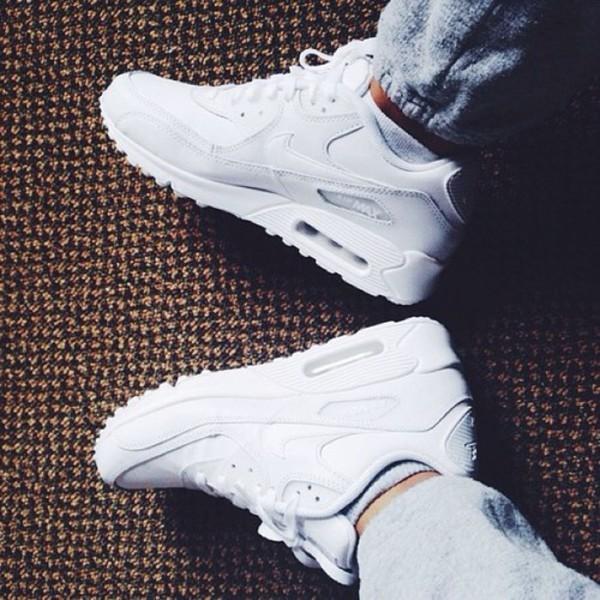 shoes jeans nike air max air max 90s style white cocaine nike air