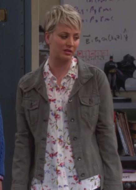 jacket kaley cuoco blouse big bang theory