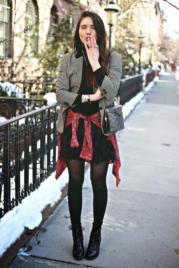 color me nana jacket shirt skirt bag shoes jewels