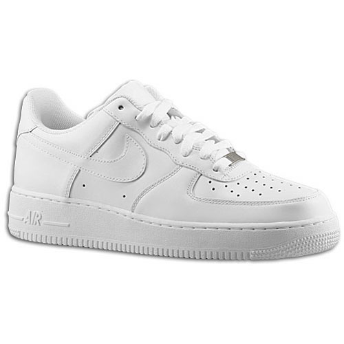 Nike Air Force 1 Low - Men's - Basketball - Shoes - White/White