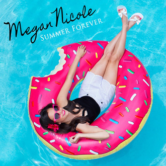 swimwear donut megan nicole music video summer forever music video summer forever song pool accessory