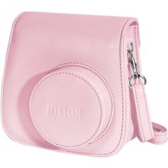 jewels camera case baby pink crossbody bag