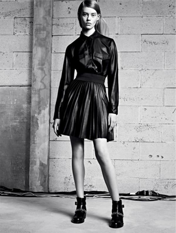 skirt sandro lookbook fashion shirt