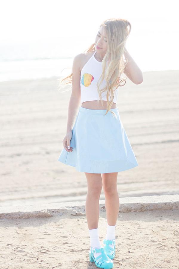 style2bones t-shirt skirt shoes
