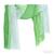 Tilo Gradation Green/Seafoam Blue Ombre Tonal Crinkle Viscose Scarf  / TheFashionMRKT
