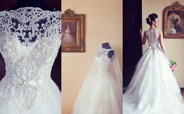 wedding dress stone dress bride dress