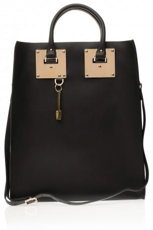 SOPHIE HULME - Black Large Classic Tote Bag | Boutique1.com