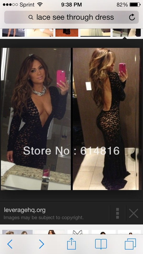 dress jennifer lopez black lace dress