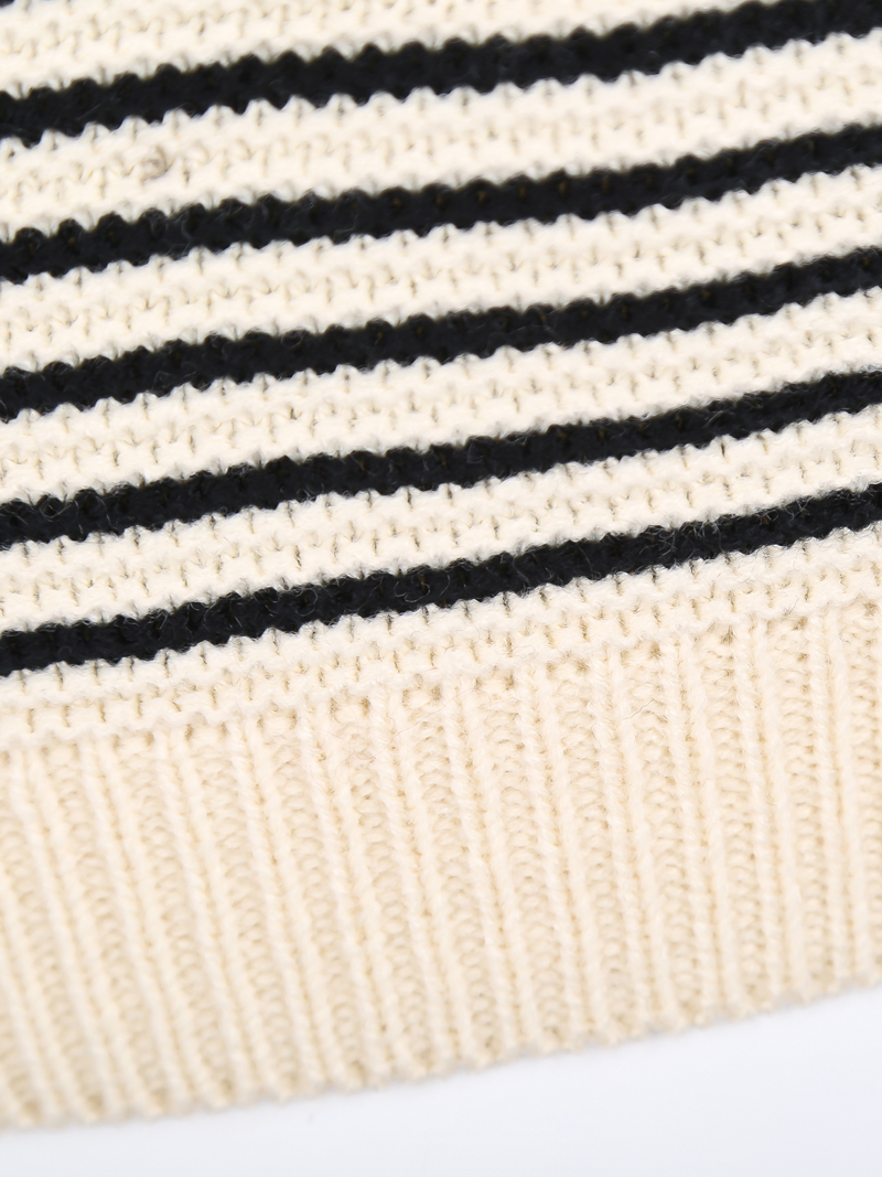 Black Apricot Cut Out Shoulder Puff Sleeve Sweater - Sheinside.com