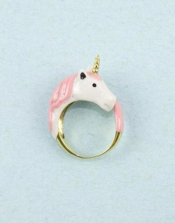 jewels ring unicorn pink pink unicorn accessories pink unicorn onesies white unicorn ring pink ring horse ring yaass lovely