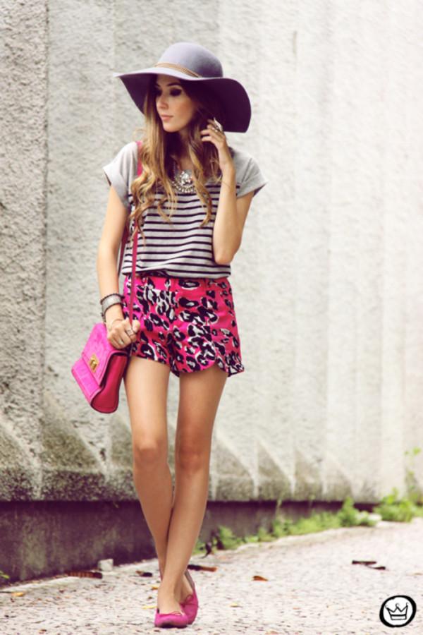 fashion coolture shorts t-shirt bag hat