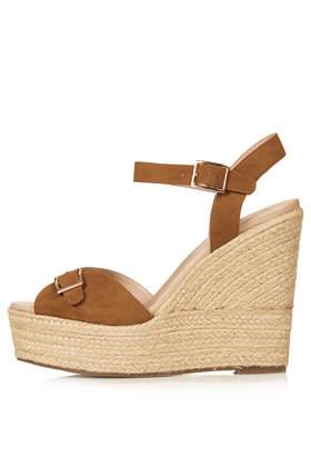 WISH Buckle Espadrilles - Heels - Shoes - Topshop USA