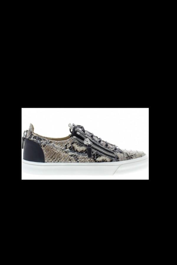shoes snake crocodile leather sneakers giuseppe zanotti
