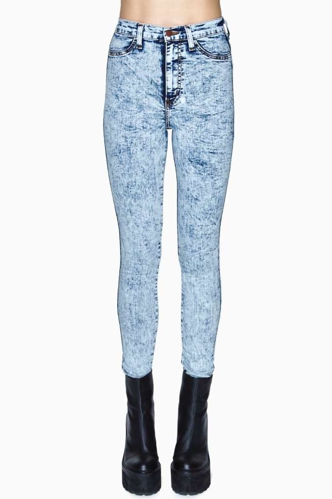 White Out Skinny Jeans in  Clothes at Nasty Gal