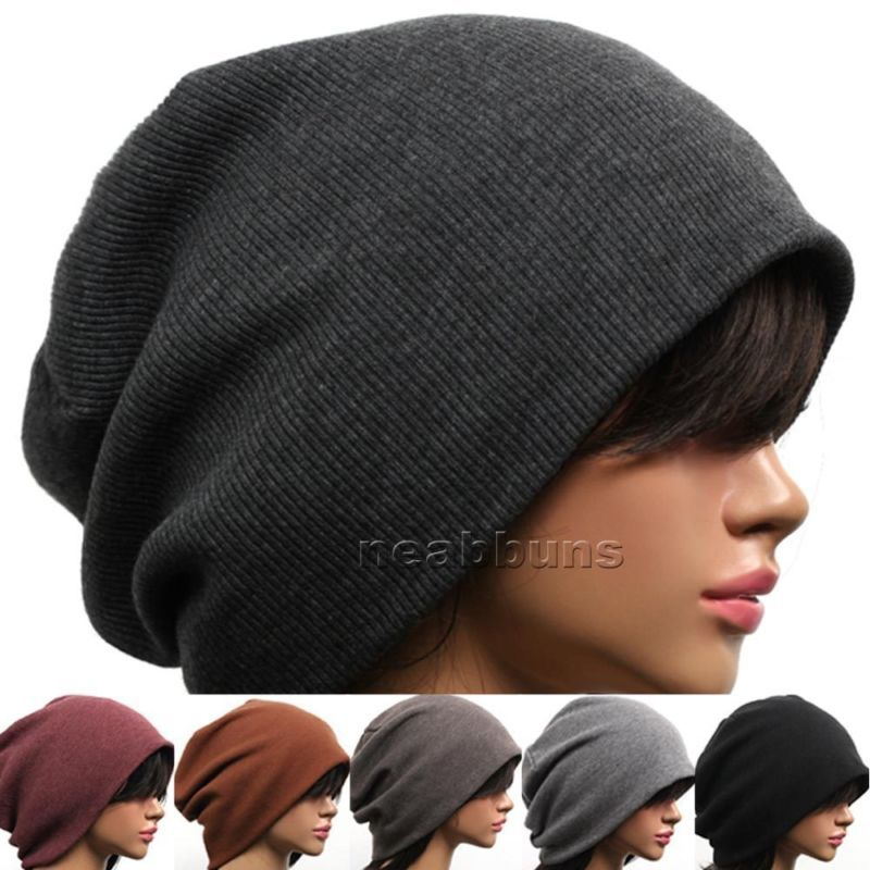 2013 New Unisex Chic Baggy Oversized Beanie Slouchy Cap Hat SIMM 5 Colors Free Shipping-in Skullies & Beanies from Apparel & Accessories on Aliexpress.com