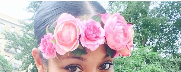 headband flowers
