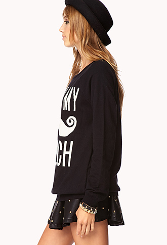 Pardon My French Sweater | FOREVER 21 - 2078929240